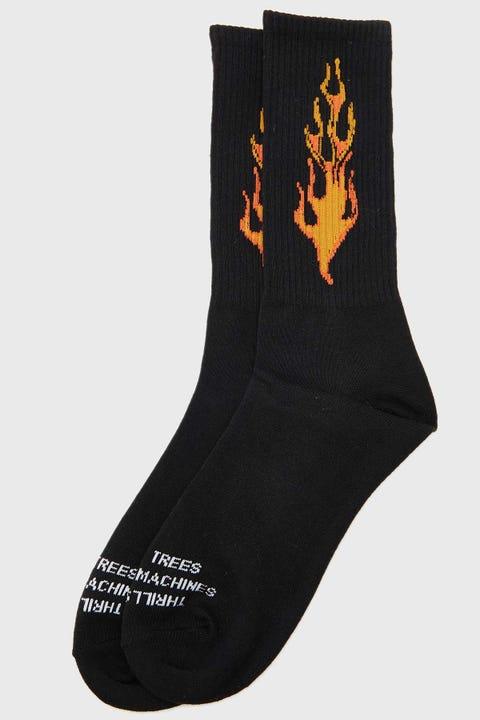 Thrills Power In Paradie Sock Black