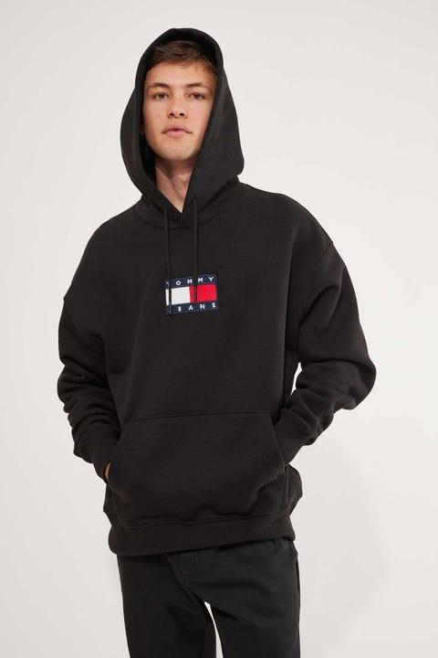 Tommy Jeans TJM Small Logo Hoodie Black