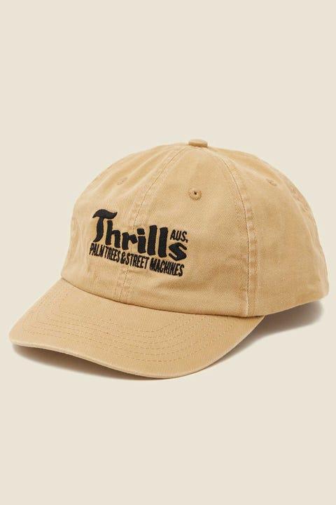 Thrills Wellness Cap Faded Gold