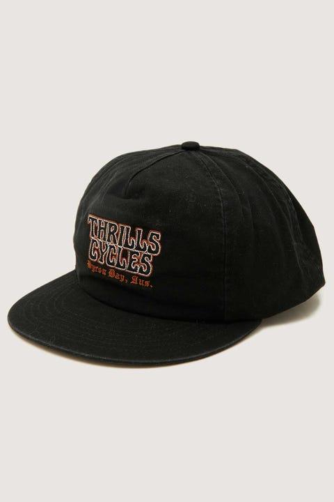 THRILLS Cycles Cap Heritage Black