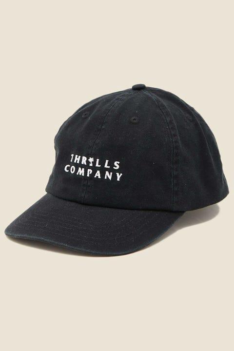 Thrills Palmed Thrills Company Cap Black