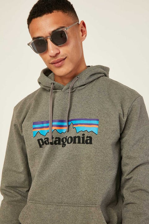 Patagonia M's P-6 Logo Hoody Gravel Heather