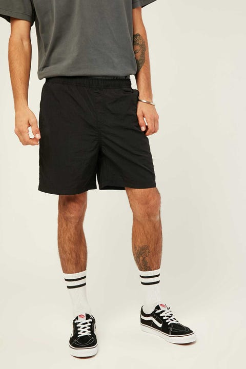 COMMON NEED Cliff Nylon Short Black