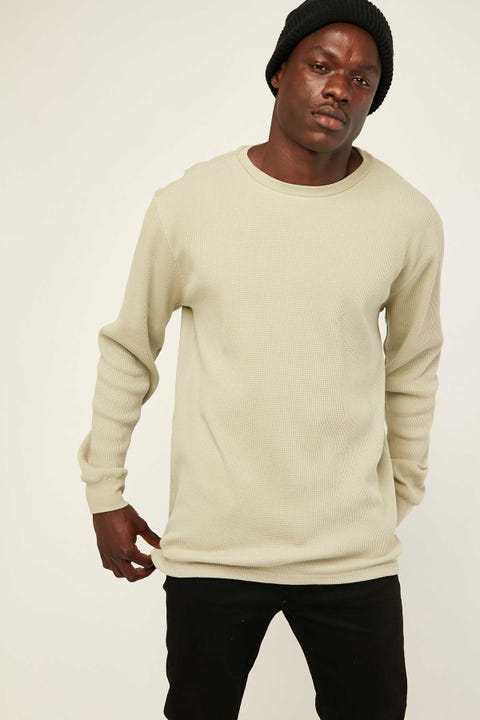 COMMON NEED Comfort Longsleeve Tee Dusty Jade