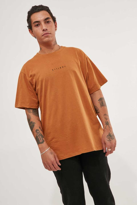 Thrills Minimal Thrills Merch Fit Tee Golden Brown