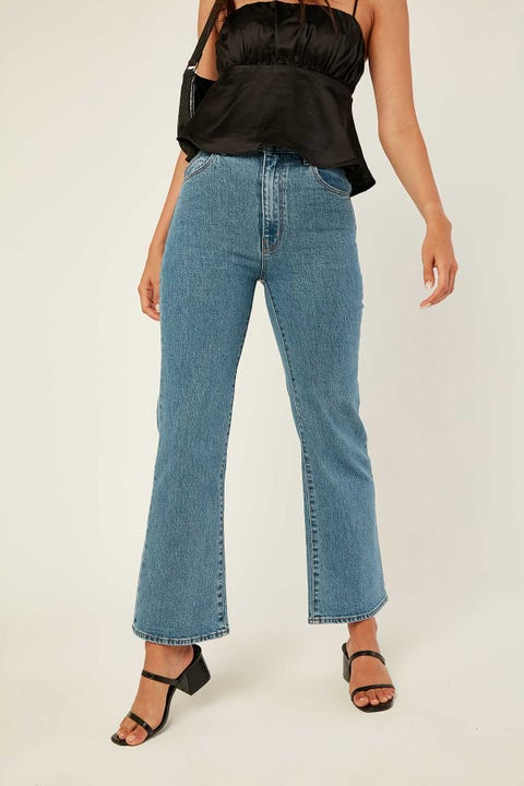 ROLLA'S Eastcoast Crop Flare Cindy Blue Cindy Blue