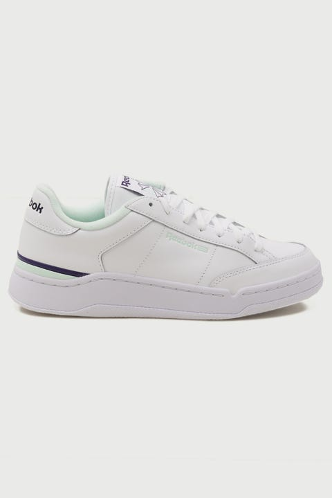Reebok Ad Court White/AquaDust/DarkOrchid
