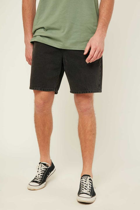 Rolla's Lazy Boy Short Stone Black