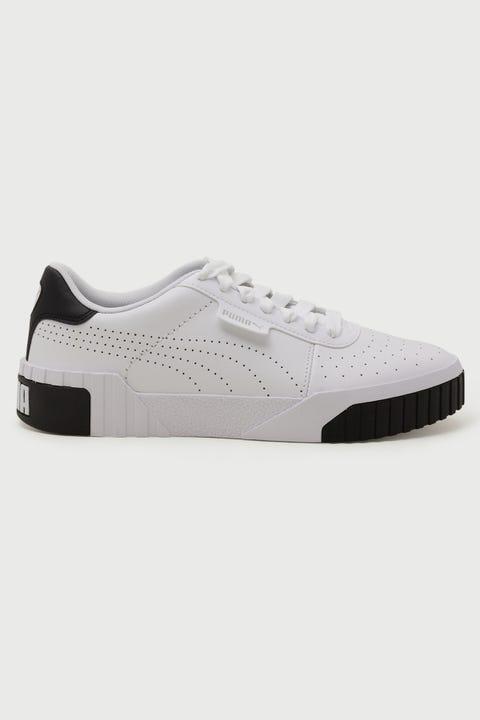 Puma Cali Perf White/Black