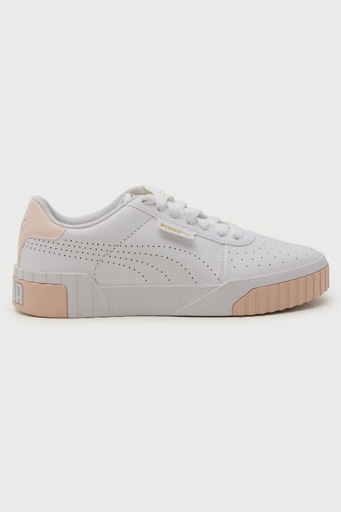 Puma Cali Perf White/Cloud Pink