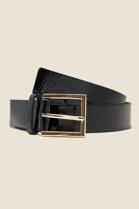 Token Patent Belt Black