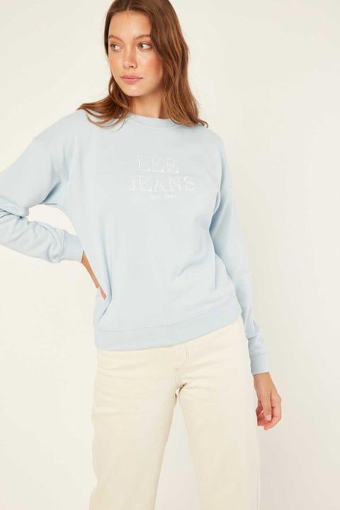LEE Bailey Sweater Pastel Blue