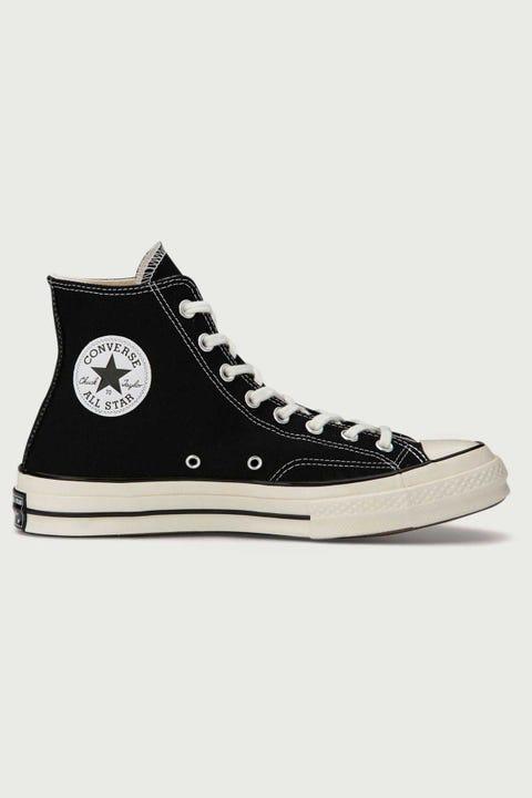 Converse Mens Chuck 70s Hi Black/Egret