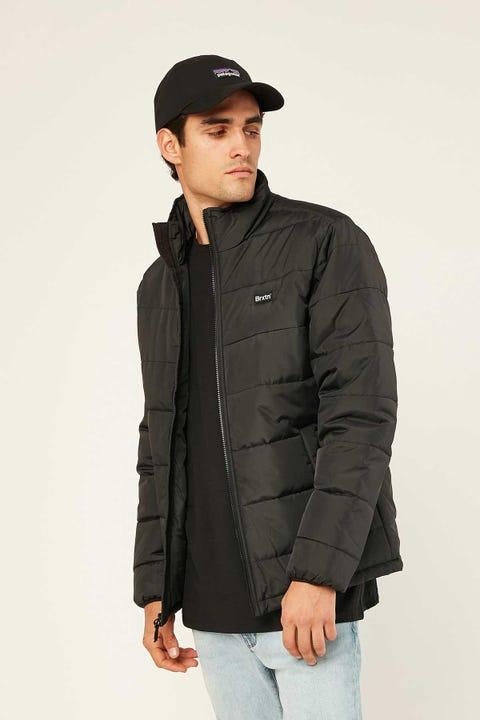 Brixton Cass Puffer Jacket Black/Black