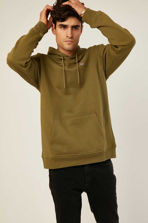 TOMMY JEANS TJM Tommy Classics Hoodie Uniform Olive