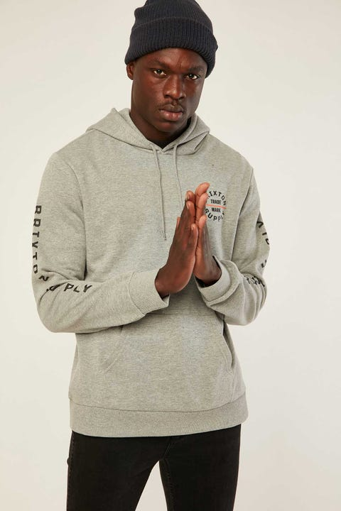 BRIXTON Oath VI Hood Heather Grey