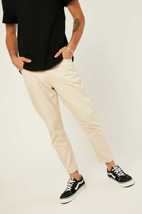 COMMON NEED Milford Drill Pant Ecru