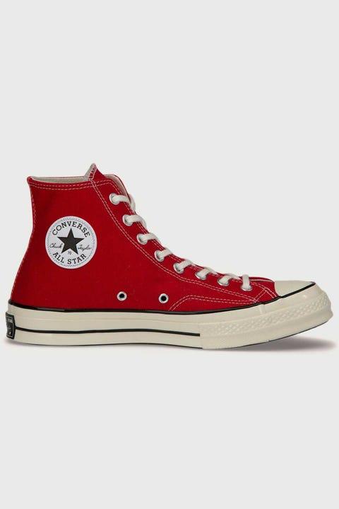 Converse Mens Chuck 70s Hi Enamel Red/Egret