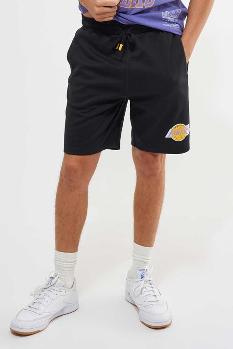 Mitchell & Ness Lakers Hometown Champs Short Black