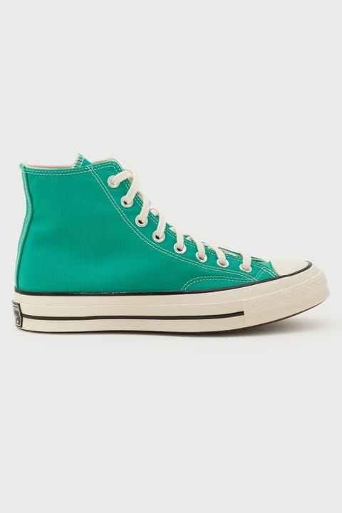 Converse Womens Chuck 70s Hi Recycled Canvas Court Green