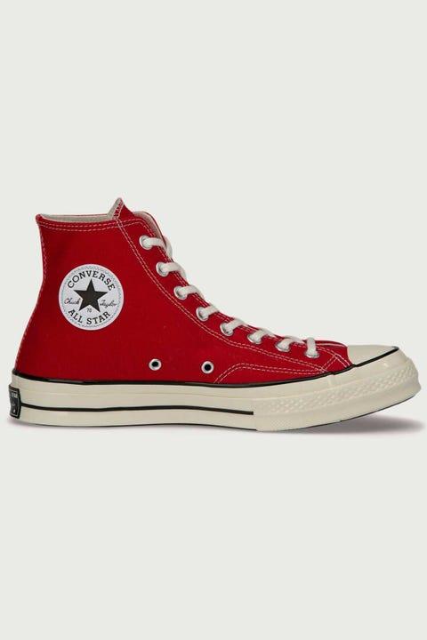 Converse Womens Chuck 70s Hi Enamel Red/Egret/Black