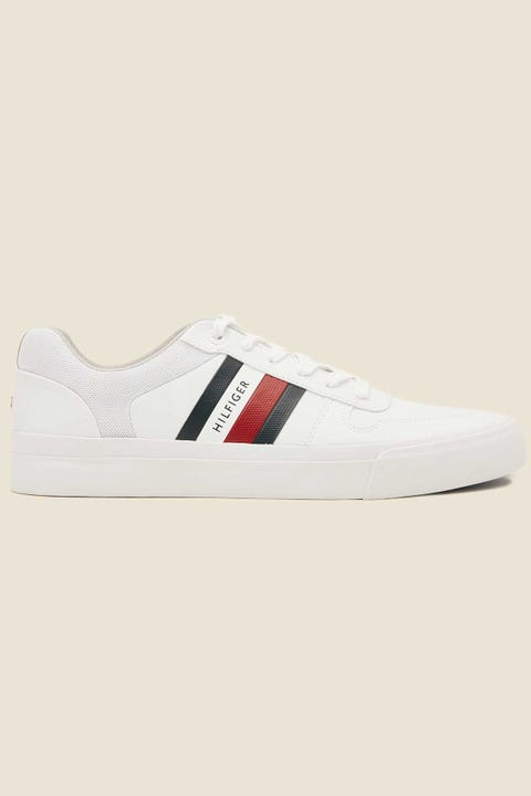 TOMMY JEANS Corporate Modern Vulc Sneaker White