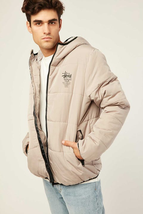 STUSSY Worldwide Lightweight Puffa Atmosphere