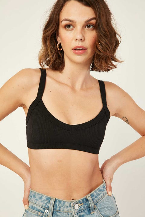 L&T Bare Bralette Black