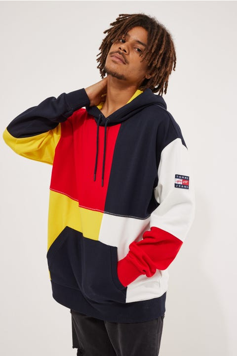 Tommy Jeans TJ US Tmall Hoodie Star Fruit Yellow