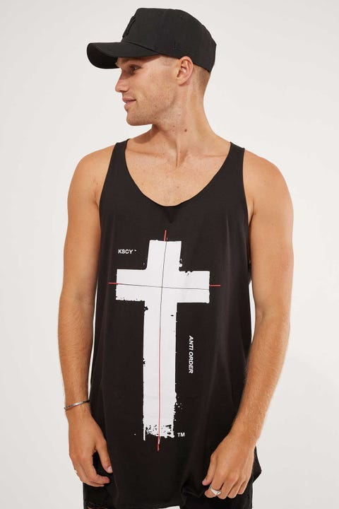 Kiss Chacey Anti Order Dual Curved Tank Jet Black