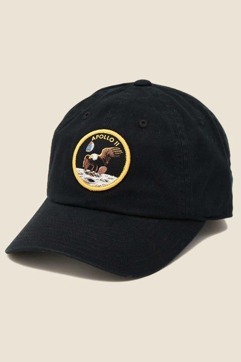 American Needle NASA Apollo 11 Ball Park Black