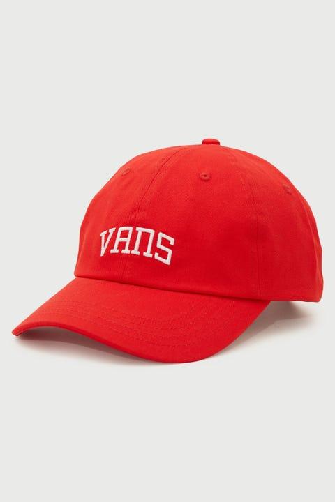 Vans New Varsity Curved Bill Jockey High Risk Red