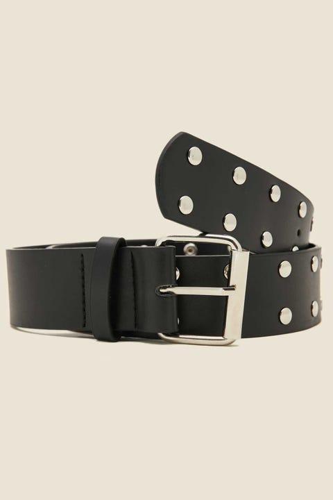 TOKEN Studded Belt Black/Silver