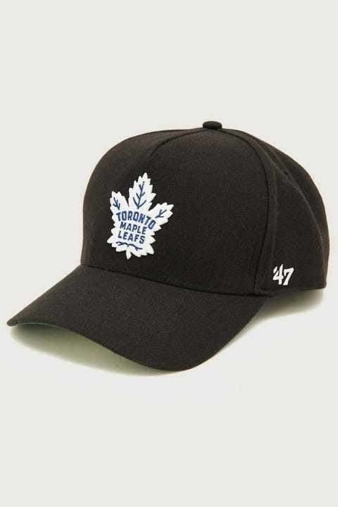 47 Brand MVP DT Toronto Maple Leafs Snapback Black