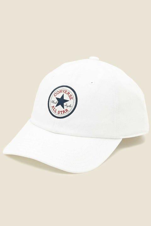 Converse Tipoff Chuck Baseball Cap White
