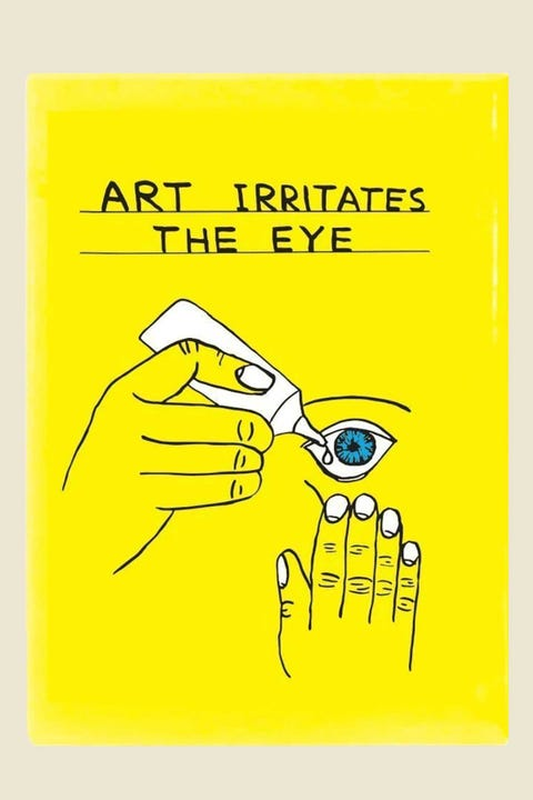 Third Drawer Down David Shrigley Art Irritates The Eye Magnet