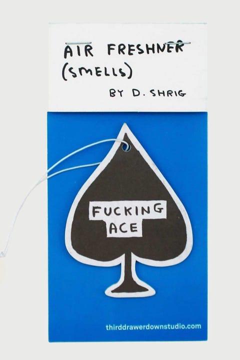 Third Drawer Down David Shrigley F**king Ace Air Freshener