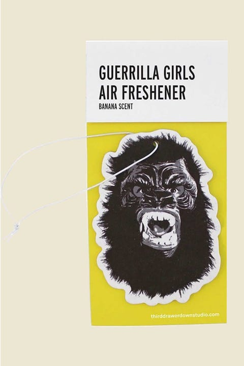 Third Drawer Down Guerrilla Girls Eliminate The Stench Air Freshener