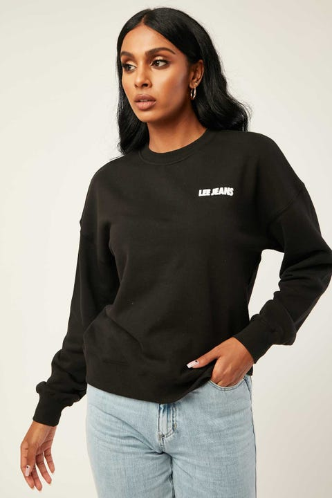 LEE Relaxed Crew Black Sky