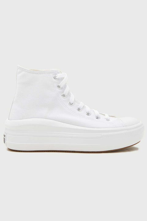 CONVERSE Womens CTAS Move Platform White/Natural Ivory/Black