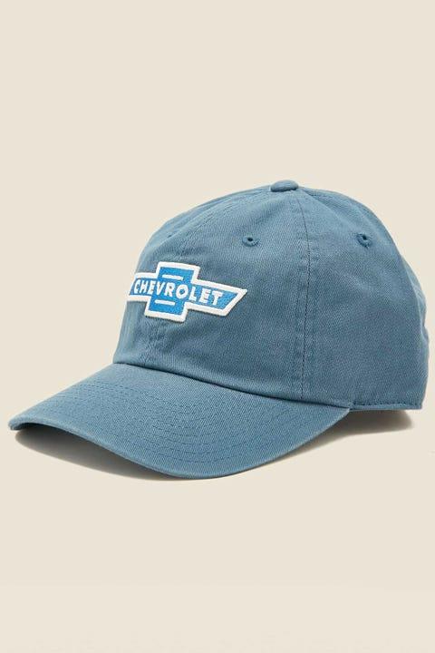 AMERICAN NEEDLE Chevrolet Ballpark Cap Breaker Blue