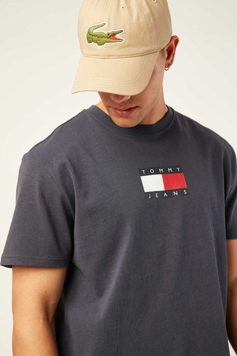 TOMMY JEANS TJM Small Flag Tee Twilight Navy