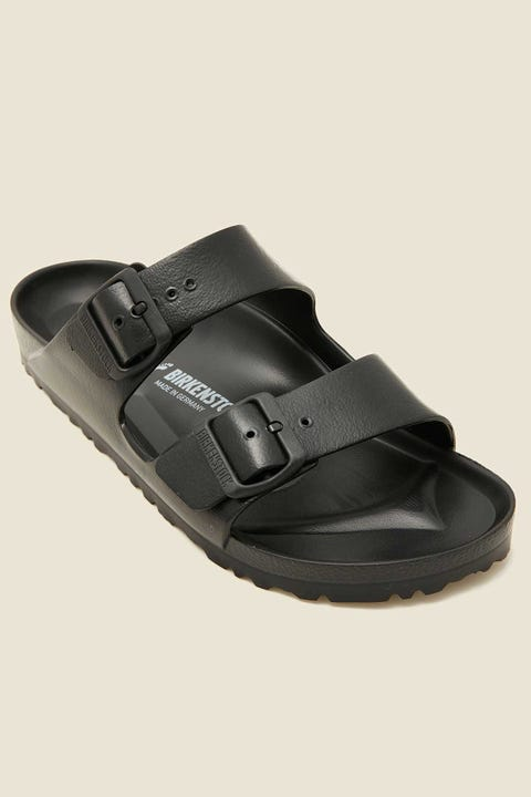 BIRKENSTOCK Womens Arizona EVA Narrow Black