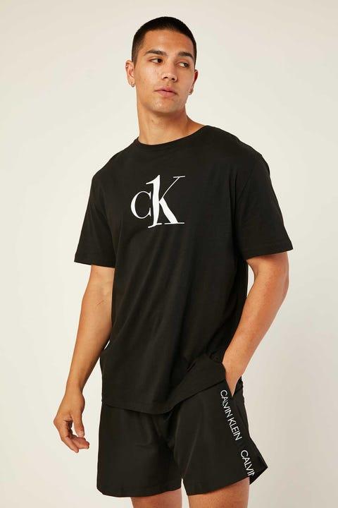 Calvin Klein Relaxed Crew Tee Black