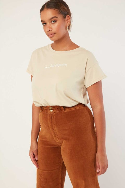 THRILLS Traveller Boyfriend Tee Peyote