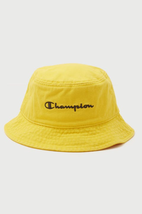 Champion Garment Dyed Bucket Hat Dandelion Yellow