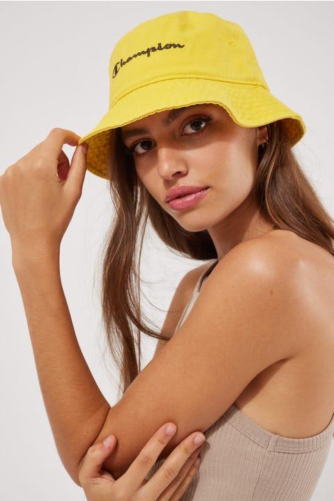 Champion Garment Dyed Bucket Hat Dandelion Yellow