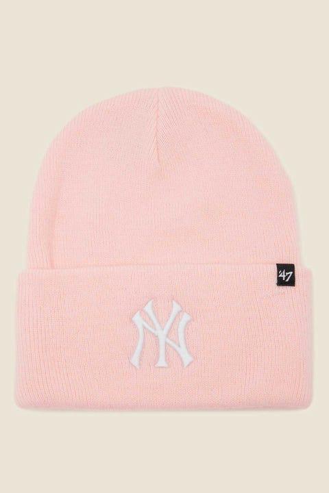 47 Brand Haymaker Beanie NY Yankees Pink