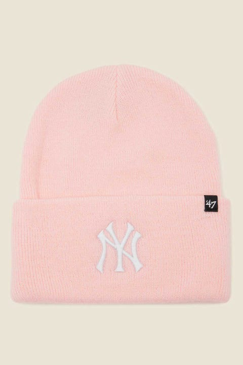 47 Brand Haymaker Beanie NY Yankees Pink