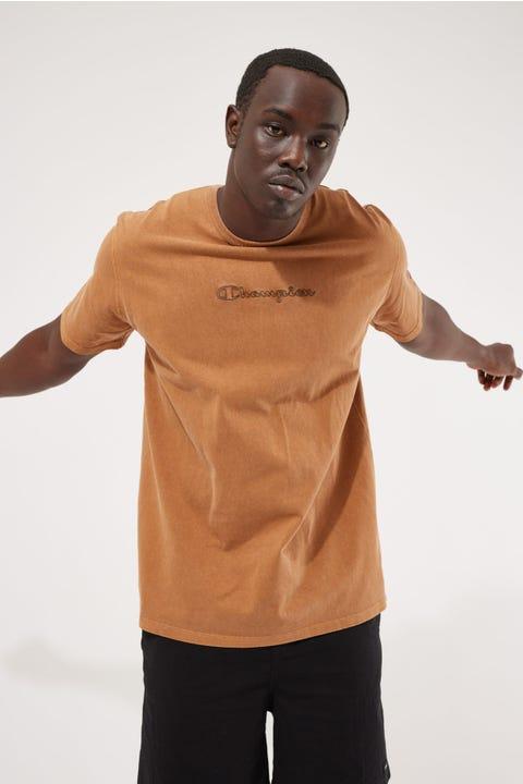Champion Garment Dye Heritage Tee Burnt Caramel